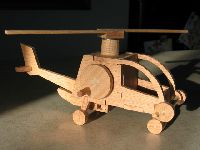 Wooden Helicoptor